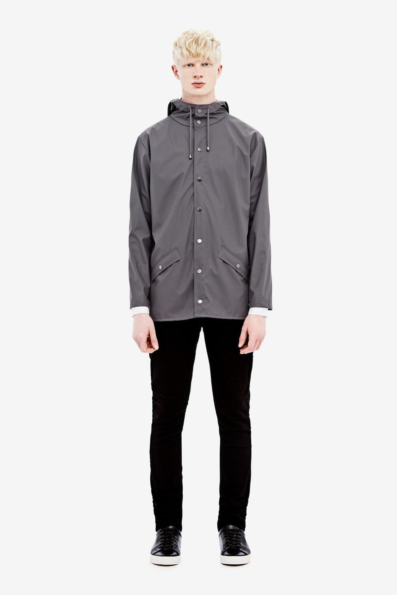 Dim Gray Jacket // Smoke Vestes Rains