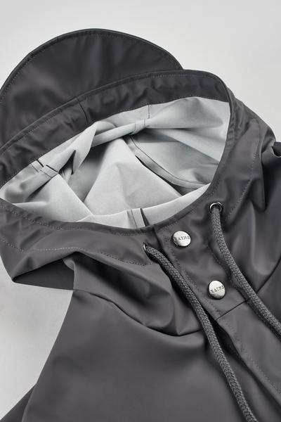 Dark Gray Jacket // Smoke Vestes Rains