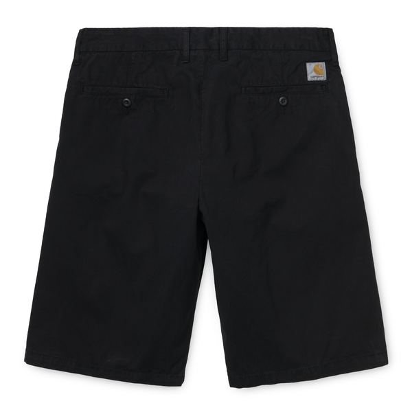 Black Johnson Short // Black // Midvale Shorts Carhartt WIP