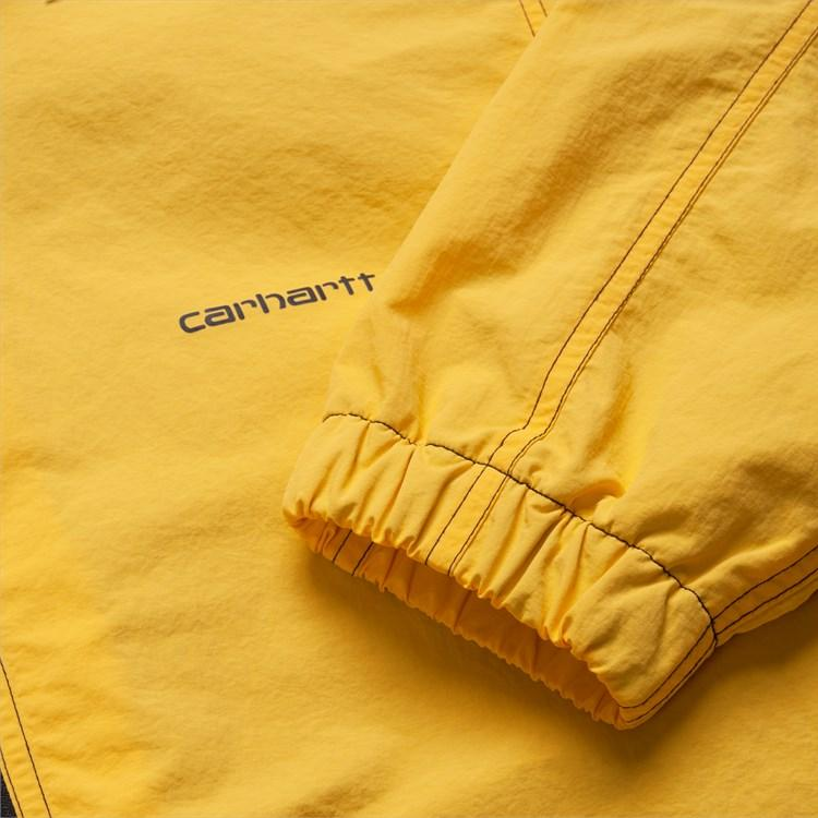 Sandy Brown Kastor Jacket // Sunflower/Black Vestes Carhartt WIP