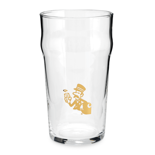 King's Cross Pint Glass // Gold
