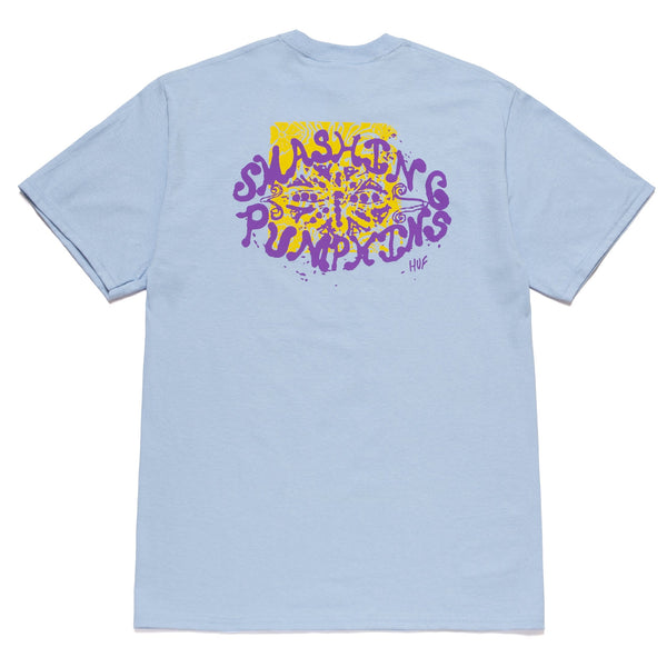 Light Steel Blue Huf x Smashing Pumpkins Lull S/S Tee // Light Blue T-shirts Huf
