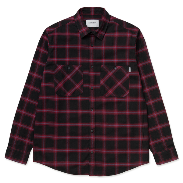 LS Darren Shirt // Bordeaux