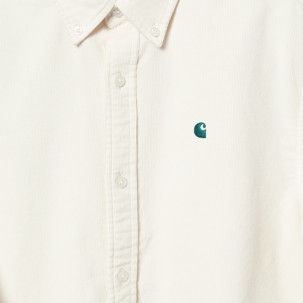 LS Madison Fine Cord Shirt // Wax/Kingston