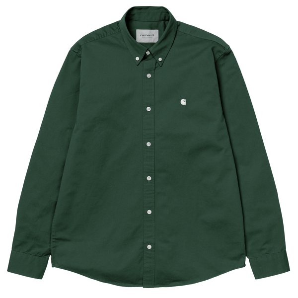 Chemises - Carhartt WIP - LS Madison Shirt // Treehouse/Wax - Stoemp