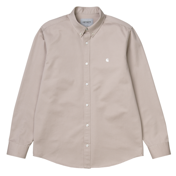 LS Madison Shirt // Glaze/Wax