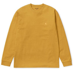 Goldenrod LS Chase T-Shirt // Colza/Gold T-shirts Carhartt WIP