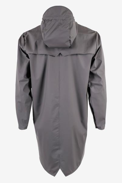 Dim Gray Long Jacket // Smoke Vestes Rains