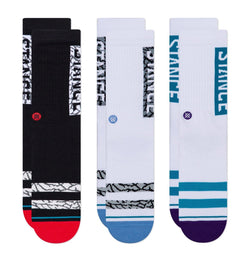 Chaussettes - Stance - The OG 3 Pack // Multicolor - Stoemp