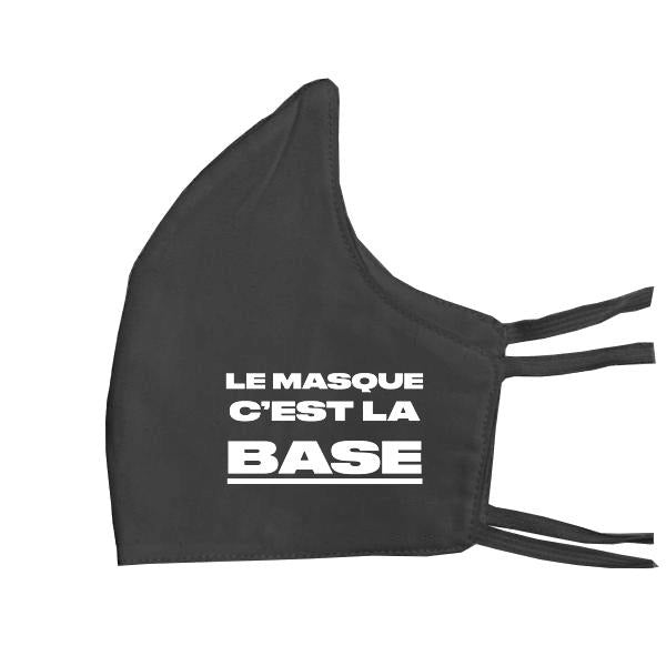 Dark Slate Gray C'est La Base Mask // Black Masques Stoemp