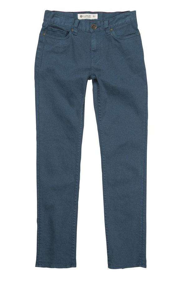 Dark Slate Gray Owen Pant Boy // Legion Blue Pantalons Element
