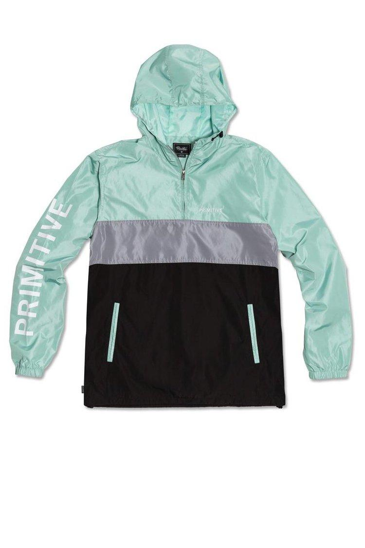 Gray Voyager Anorak Jacket // Mint Vestes Primitive