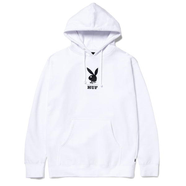 Sweats à capuche - Huf - May 88 Cover Hoodie // Huf X Playboy // White - Stoemp