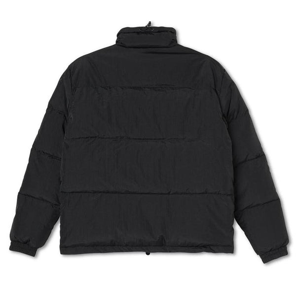 Dark Slate Gray Pocket Puffer // Black Vestes Polar