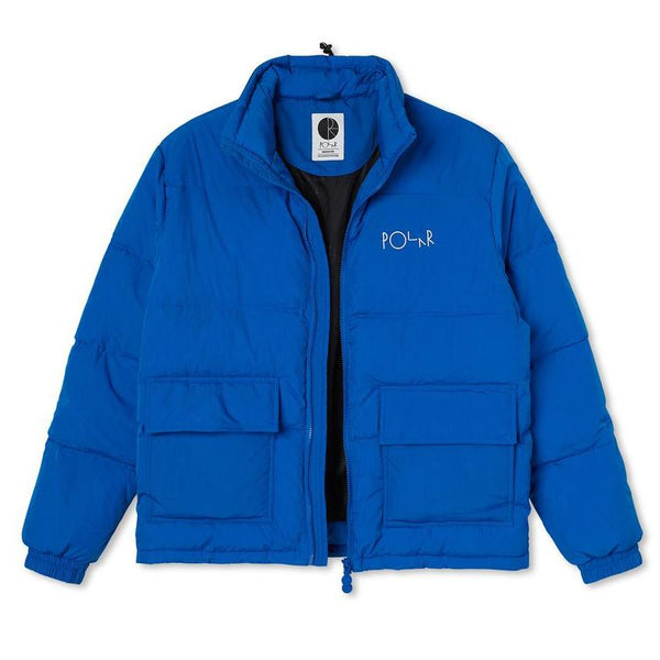 Dark Cyan Pocket Puffer // Blue Vestes Polar