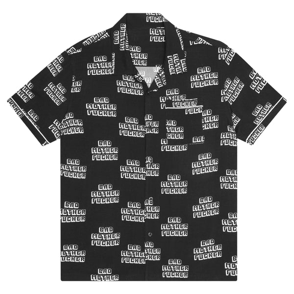 Bad MF Woven Top // Huf x Pulp Fiction // Black