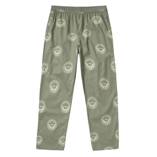 Dark Sea Green Pijamax Pant // Kaki Green Pantalons Hélas