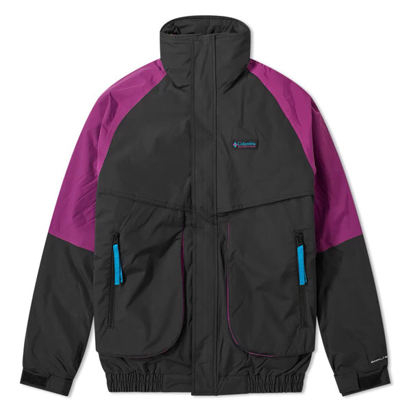 Dark Slate Gray Powder Keg Interchange Parka // Black/Plum Vestes Columbia