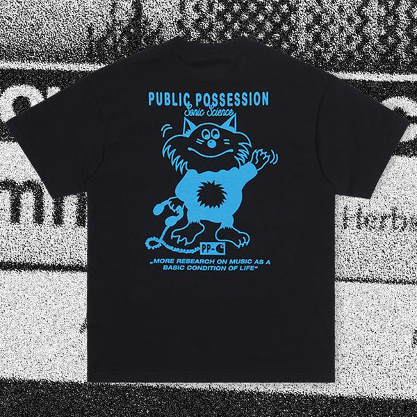 T-shirts - Carhartt WIP - SS Public Possession T-Shirt // Relevant Parties // Black/Blue - Stoemp