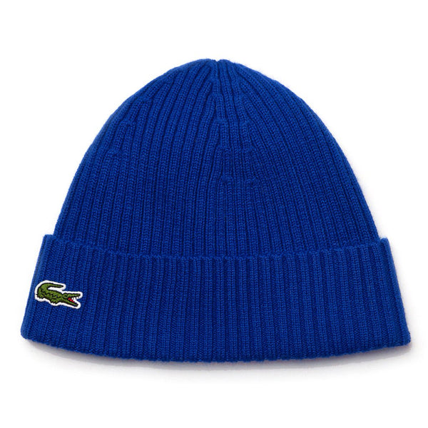 Midnight Blue Knitted Cap // Electric Bonnets Lacoste