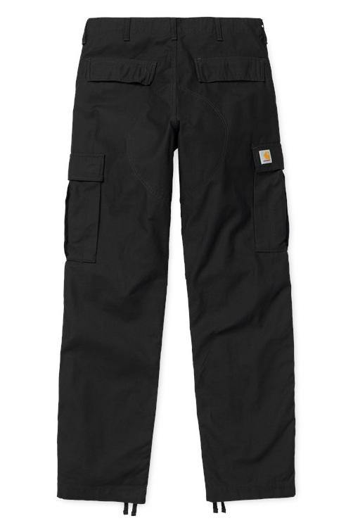 Regular Cargo Pant // Ness // Black Stone Washed