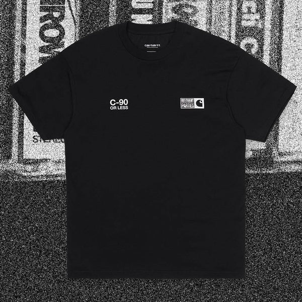 T-shirts - Carhartt WIP - SS Relevant Parties // Relevant Parties // Black - Stoemp