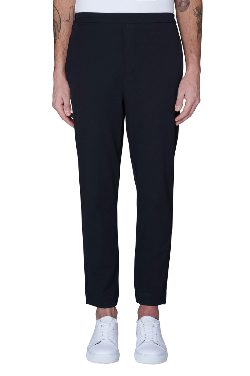 Black Riley 315 // Black Pantalons Plain