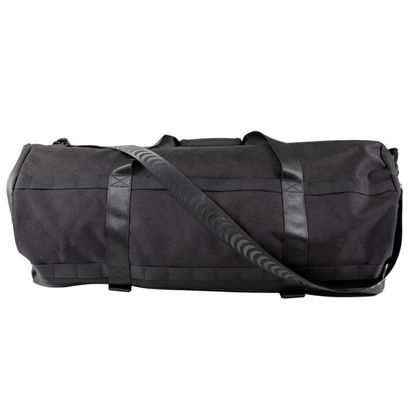 Dark Slate Gray Road Dog Duffel Bag // Black Sacs Spitfire