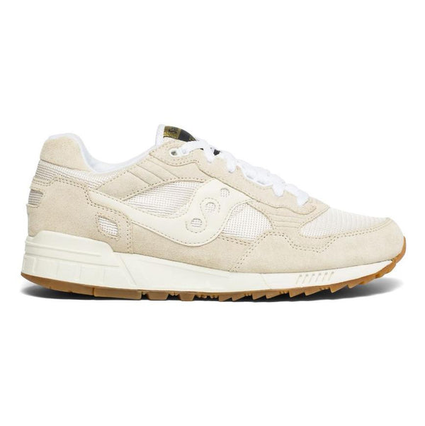 Antique White Shadow 5000 // Tan/White Sneakers Saucony