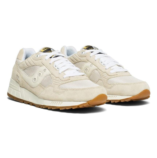 Gray Shadow 5000 // Tan/White Sneakers Saucony