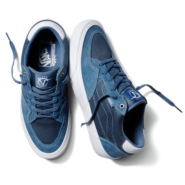 Slate Gray Rowan Pro // Mirage // Blue/White Sneakers Vans