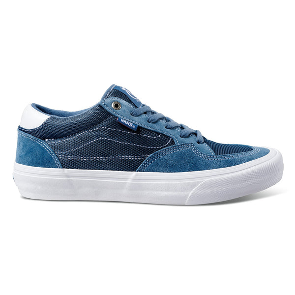 Dark Slate Gray Rowan Pro // Mirage // Blue/White Sneakers Vans