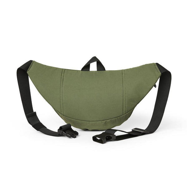 Dim Gray Sport Hip Bag // Dusty Army Sacs Polar