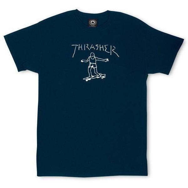 Midnight Blue SS Tee Gonz // Navy T-shirts Thrasher