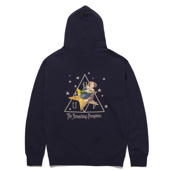 Dark Slate Gray Huf x Smashing Pumpkins Starlight P/O Hoodie // Navy Sweats à capuche Huf