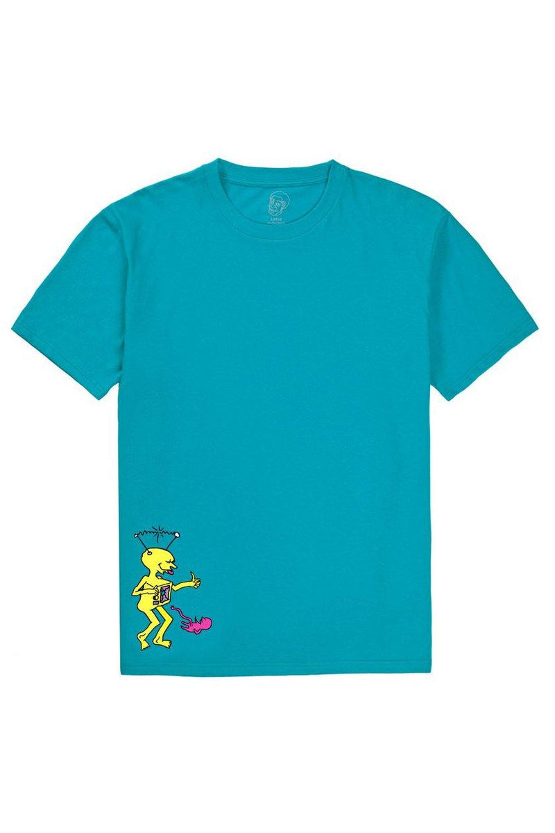 T-shirts Light Sea Green Polar TV Kid Tee // Turquoise