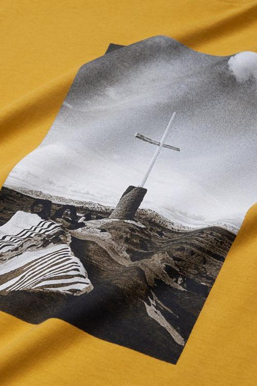 SS Matt Martin Salvation T-Shirt // Colza/Black