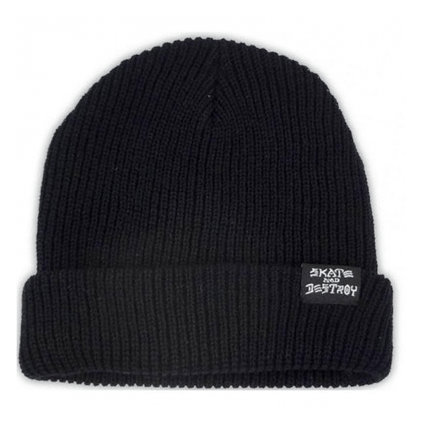 Black Sad/ Goat Beanie // Black Bonnets Thrasher