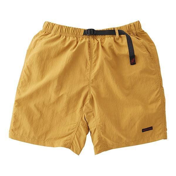 Shell Packable Short // Mustard