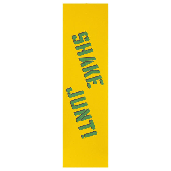 Gold Shake Junt Grip // Yellow/Green Grip Shake Junt