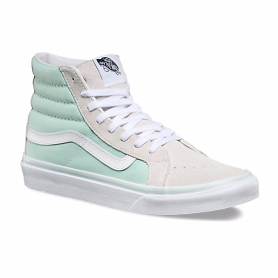 Sk8-Hi Slim // Bay/True White