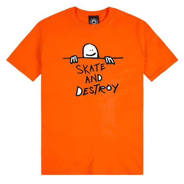 T-shirts - Thrasher - Gonz Sad Logo SS // Orange - Stoemp