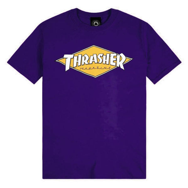 T-shirts - Thrasher - Diamond Logo SS // Purple - Stoemp