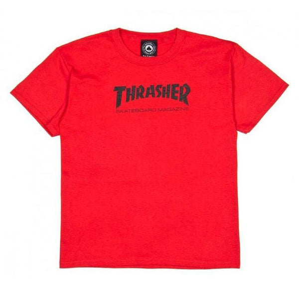 T-shirts - Thrasher - Skatemag T-shirt YOUTH // Red - Stoemp