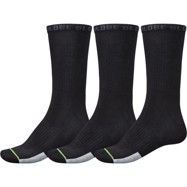 Low Impact Crew Sock 3 pack // Assorted
