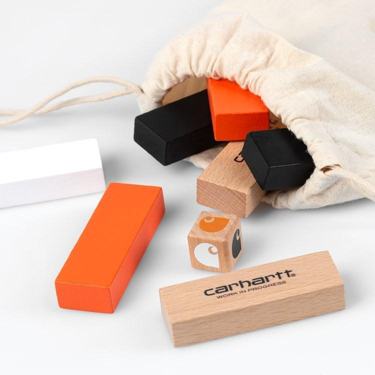 Tomato Stacking Block Game Wood // Multicolor Autres Carhartt WIP