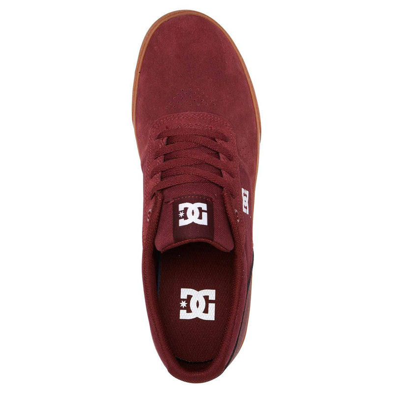 Saddle Brown Switch // Burgundy Sneakers Dc shoes