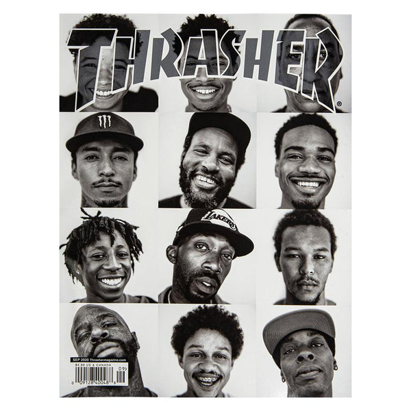 White Smoke Thrasher Magazine Septembre 2020 Livres Thrasher