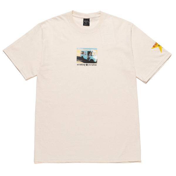 Antique White Huf x Smashing Pumpkins Today S/S Tee // Natural T-shirts Huf