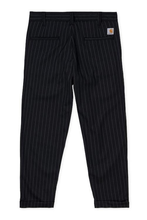 Taylor Pant // Diamond // Pinstripe Black/White